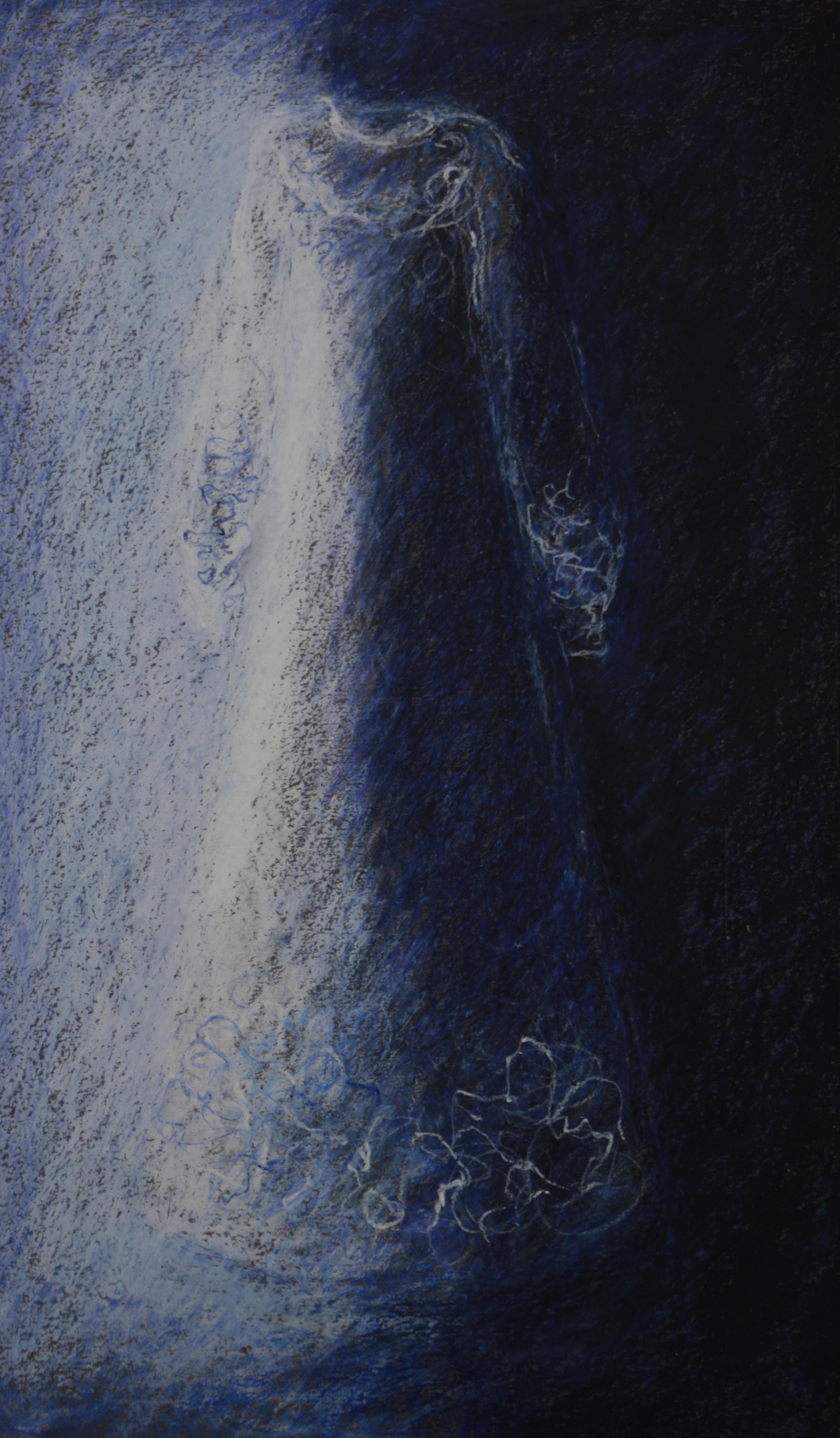6 robe pastel bleu 60x38 cm